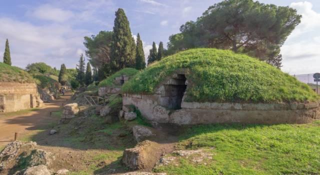 Patrimoni Unesco: le Necropoli Etrusche di Cerveteri e Tarquinia