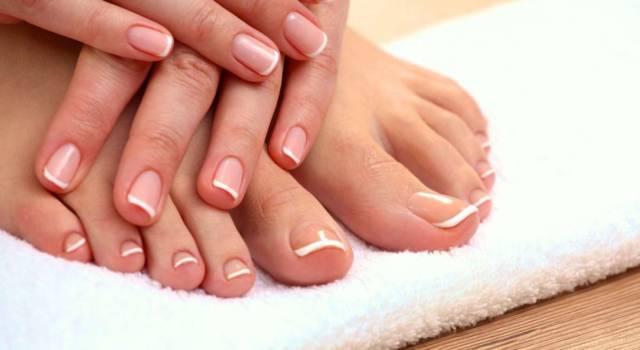 French manicure su unghie corte