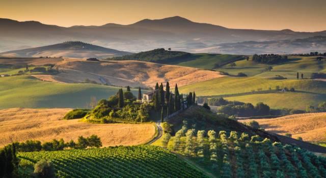 Siti Unesco in Italia: la Val d'Orcia