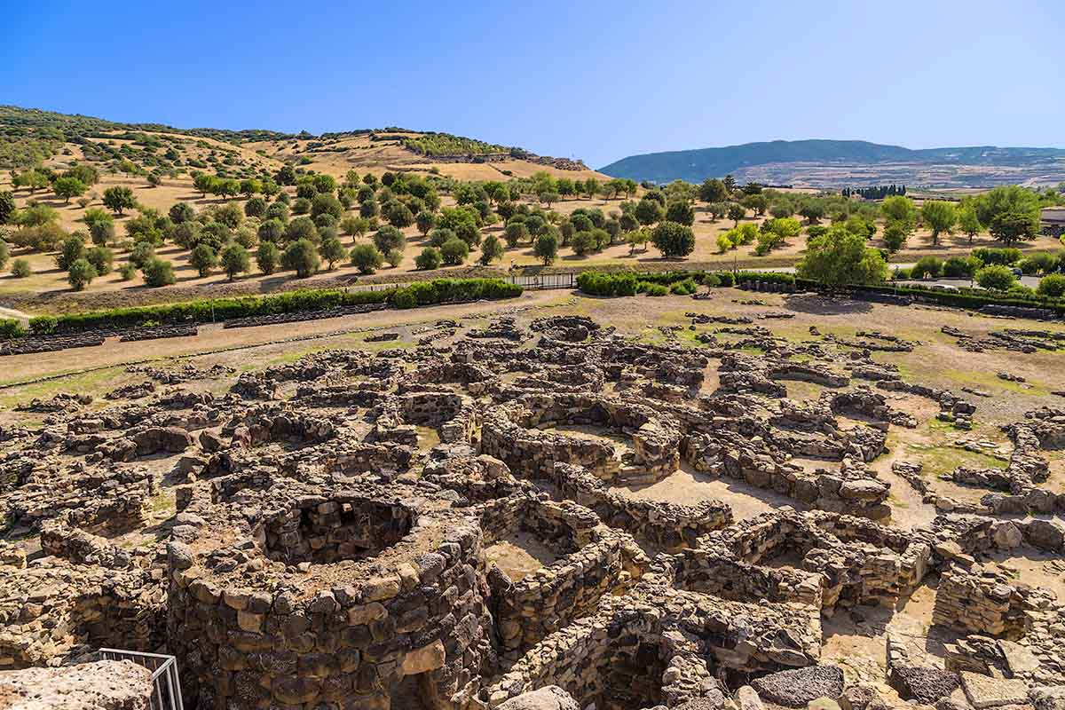 Villaggio Nuragico di Barumini Sardegna
