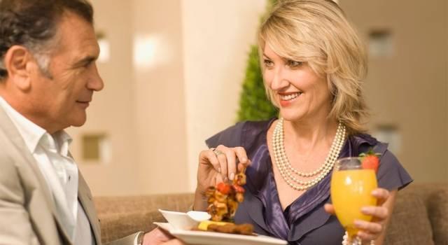 Look aperitivo autunnale a 50 anni