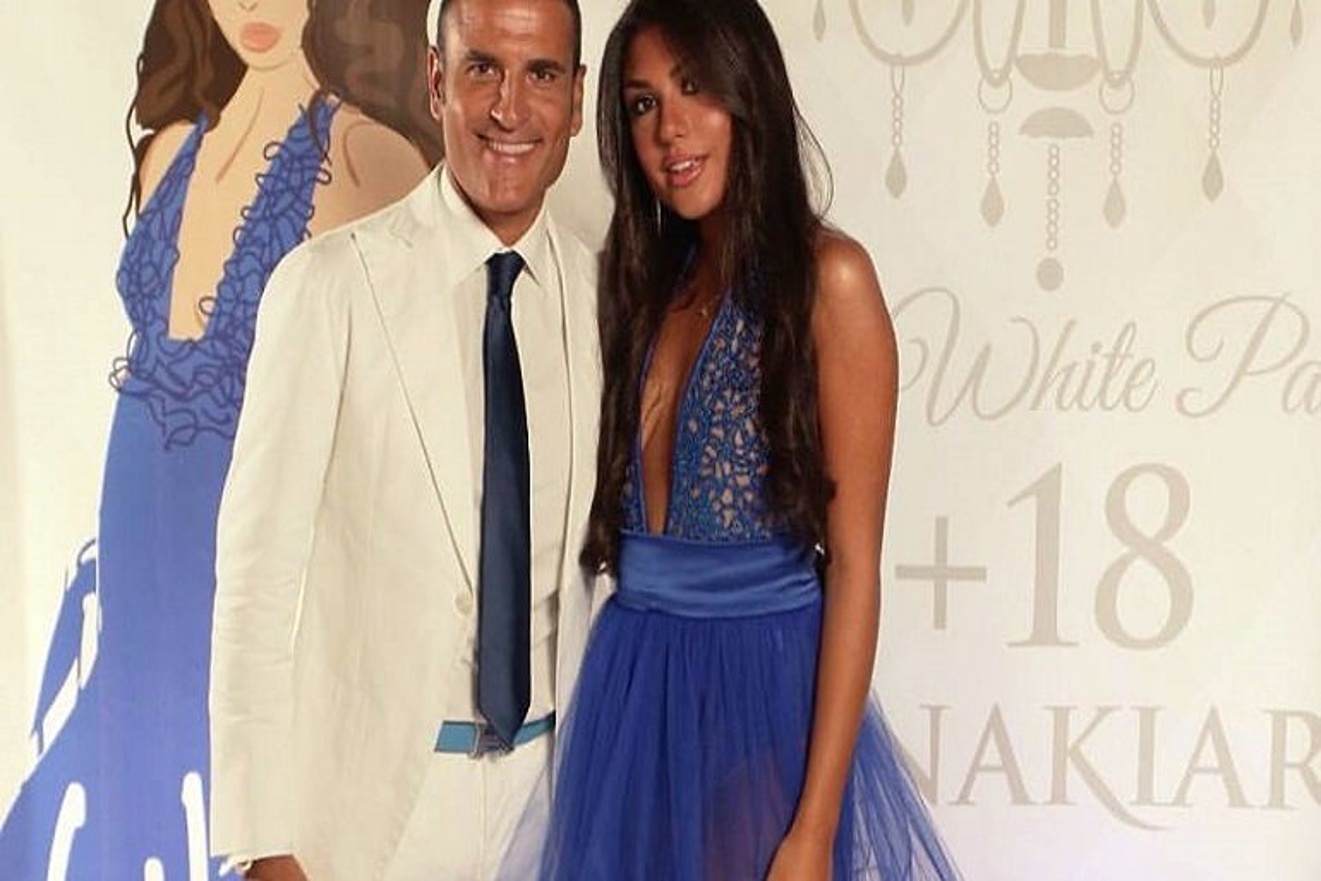 Sal da Vinci con la figlia Annachiara Sorrentino