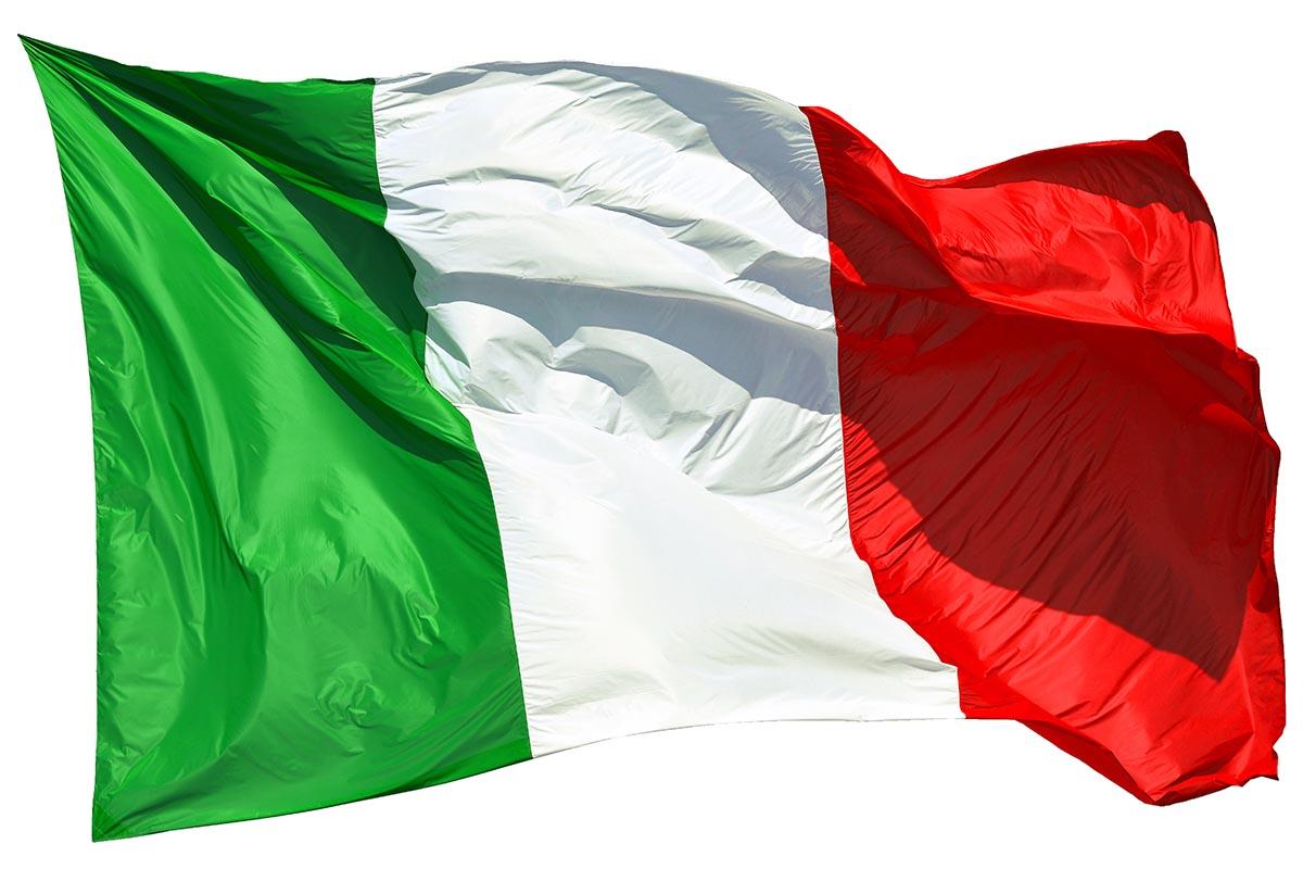 bandiera italiana italia