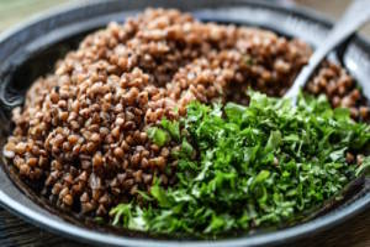 grano saraceno piatto