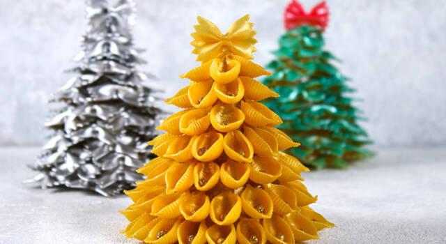 Decorazioni natalizie fai da te con la pasta