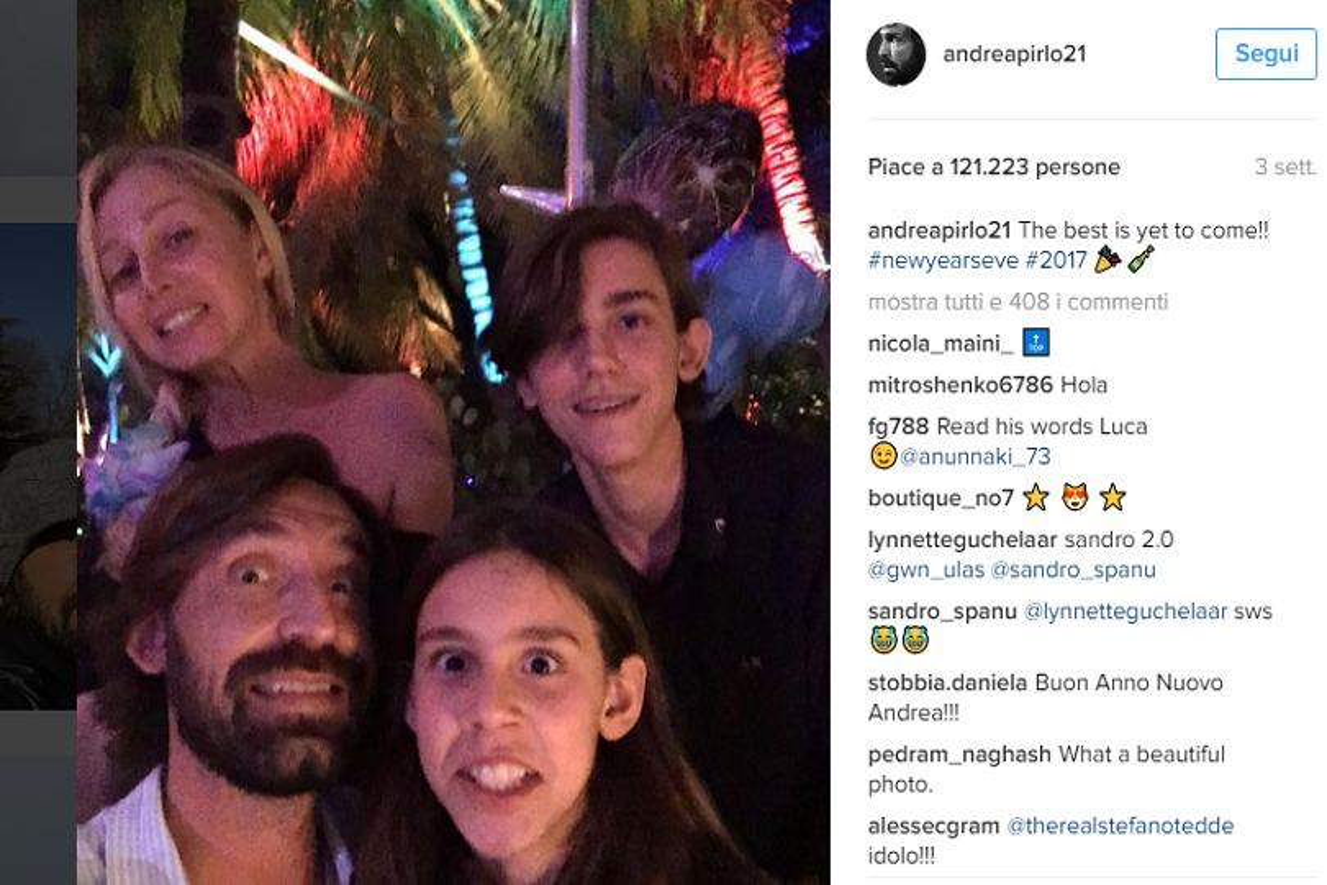 Andrea Pirlo Instagram