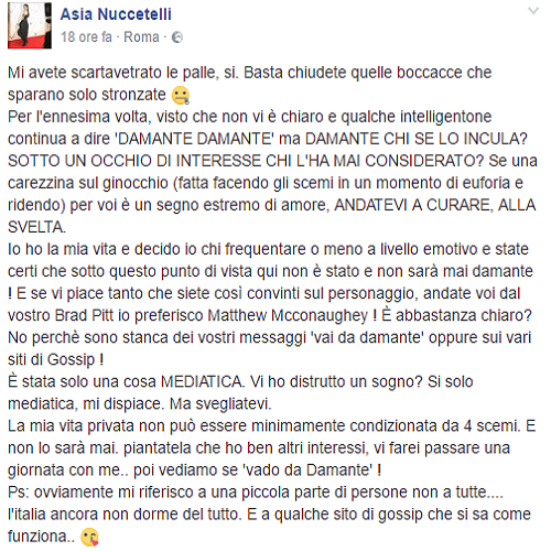 Asia Nuccetelli FB