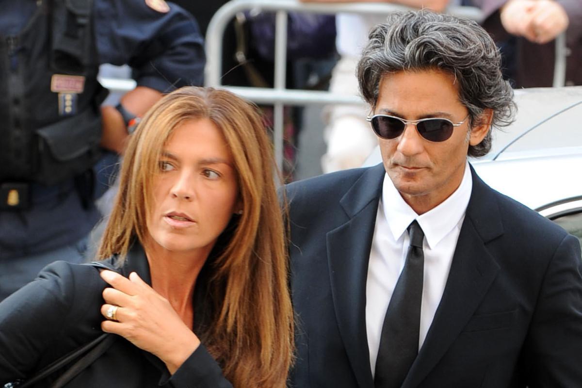 Fiorello e la moglie Susanna Biondo