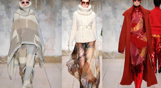 Laura Biagiotti autunno inverno 2017: sfilata fra arte e moda in divenire