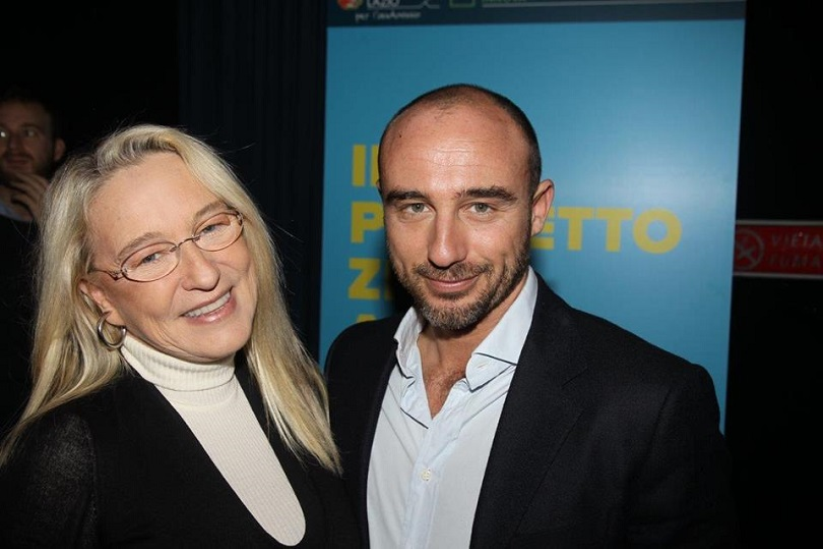 Eleonora Giorgi con il figlio Andrea