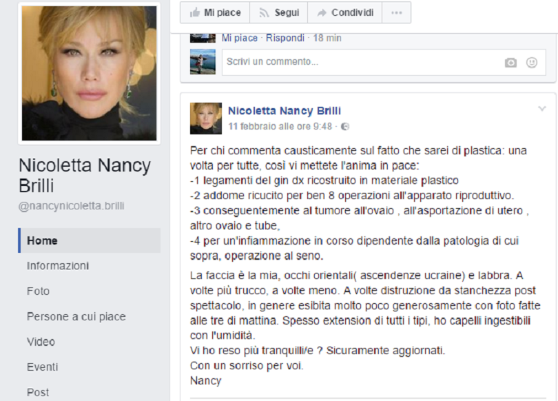 Nancy Brilli post