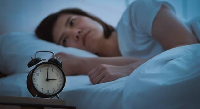 Insonnia: i sintomi del disturbo che colpisce tantissimi italiani