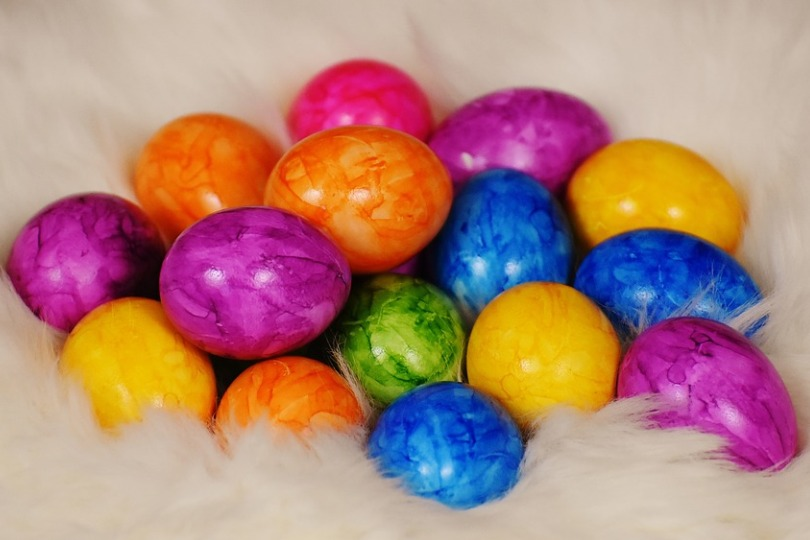 COME DECORARE LE UOVA DI PASQUA