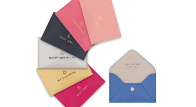 Wish in a pocket di Coccinelle: bustine di auguri per momenti da ricordare