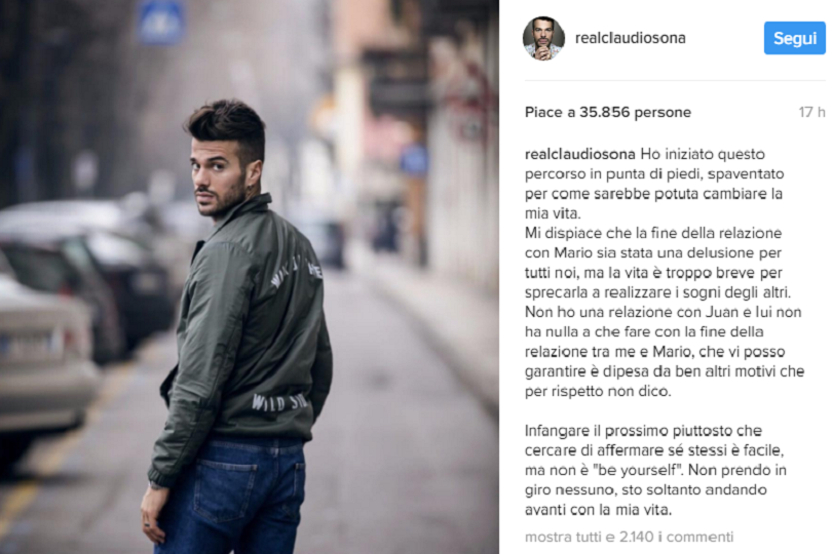 Claudio Sona inst