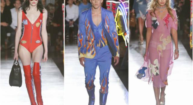 Moschino Resort 2018: sfilata americana in un fashion journey on the road