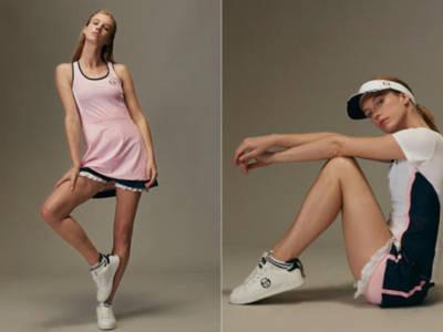 Sergio Tacchini e Johanna Ho: arriva Curvature linea fashion per il tennis