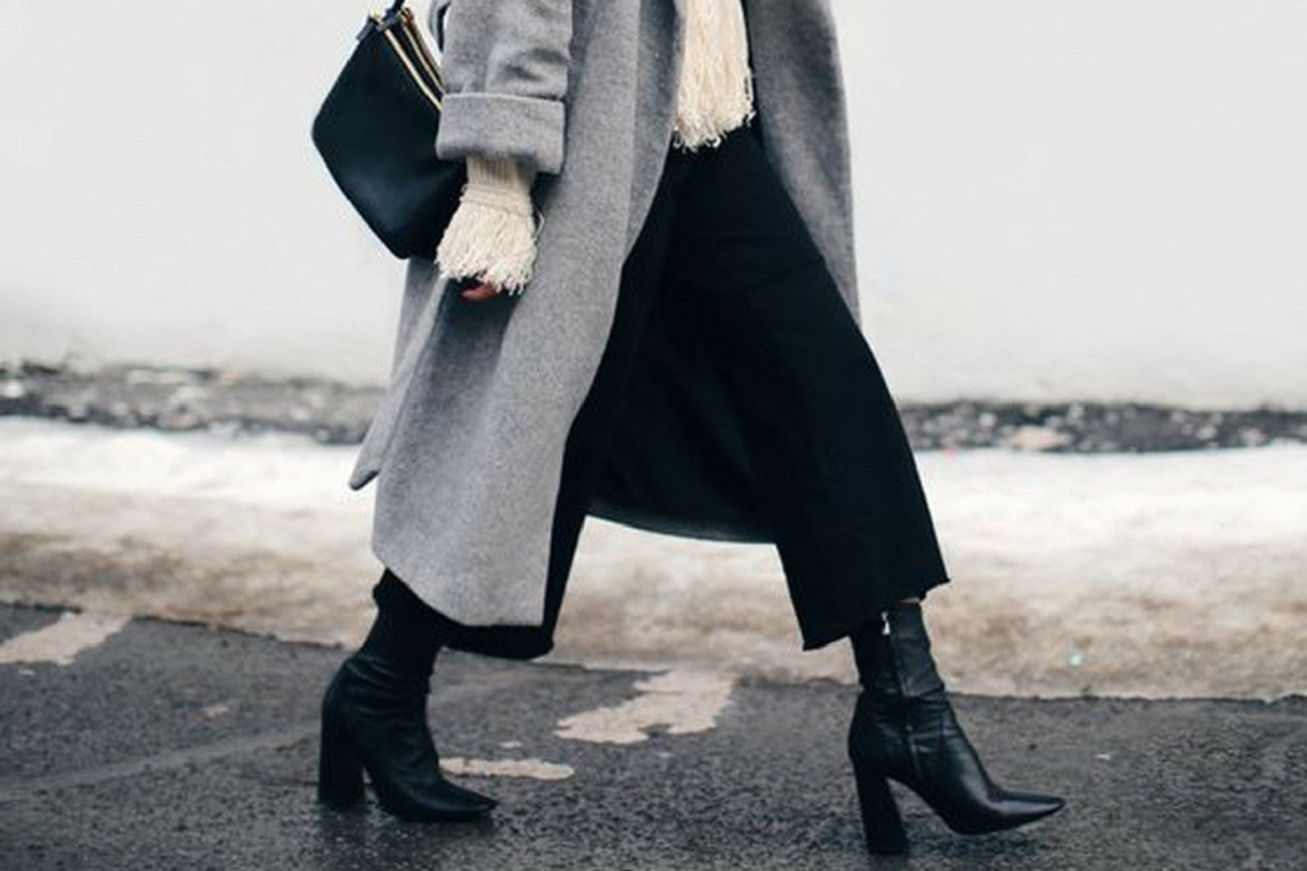Pantaloni culotte scarpe