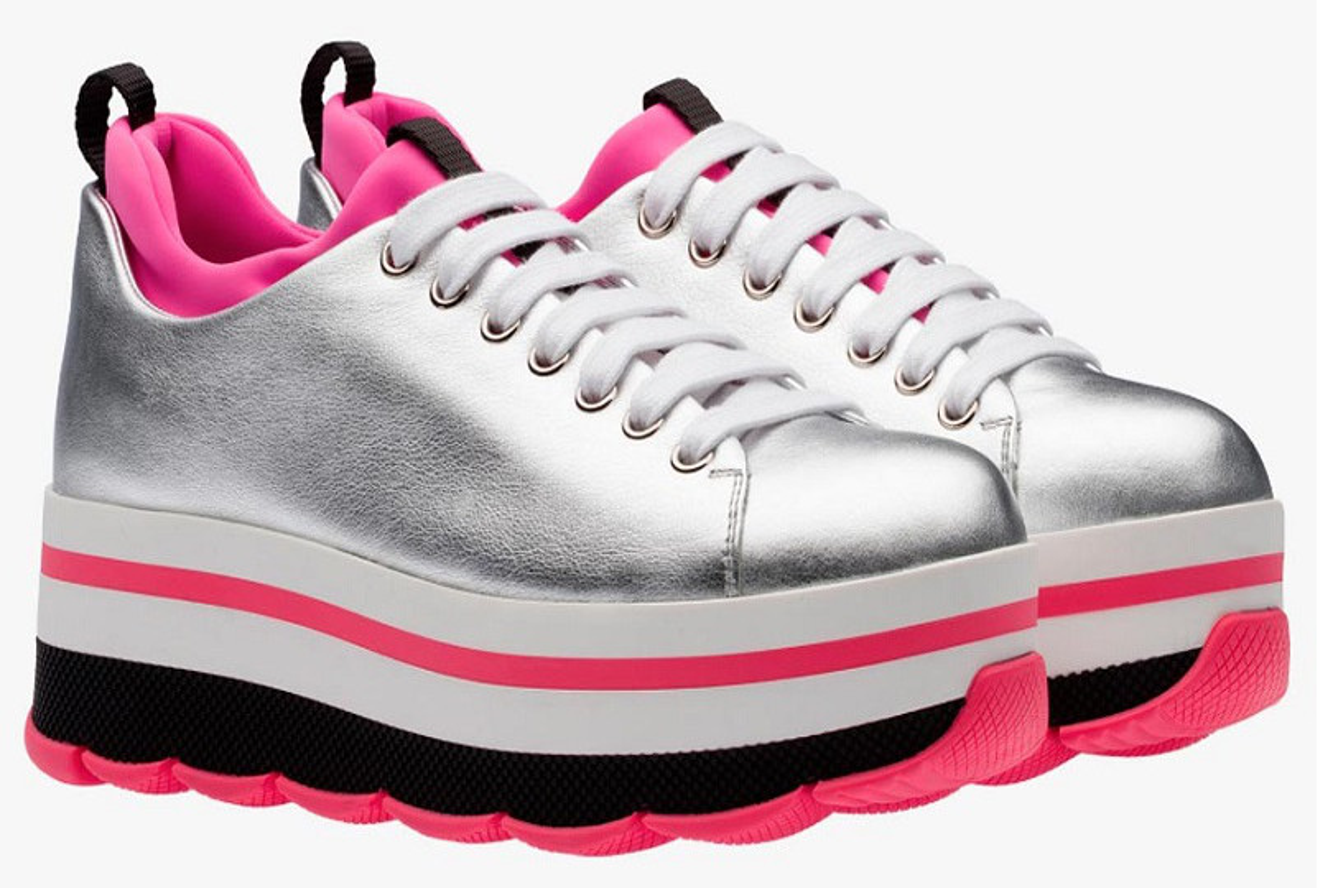 Sneakers suola alta