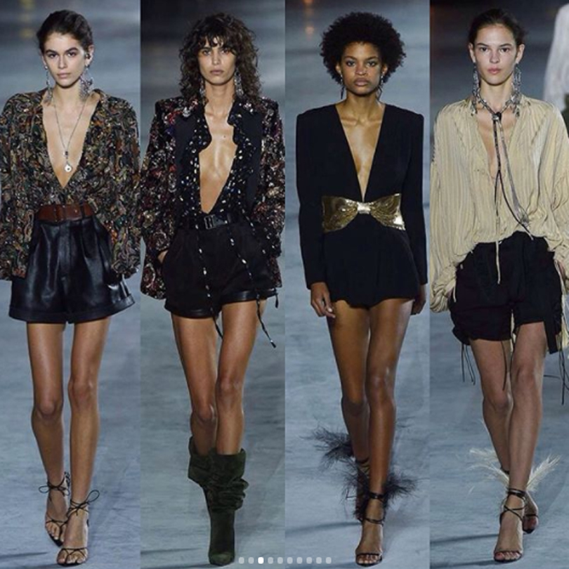 Paris Fashion Week PE 2018 YSL