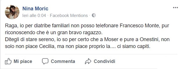 Post di Nina Moric