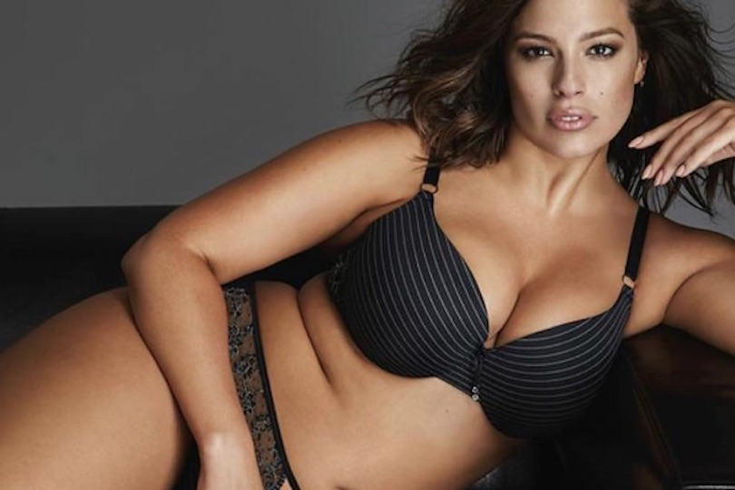 Ashley Graham modella curvy