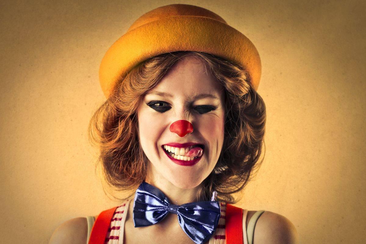Trucco per Halloween da clown