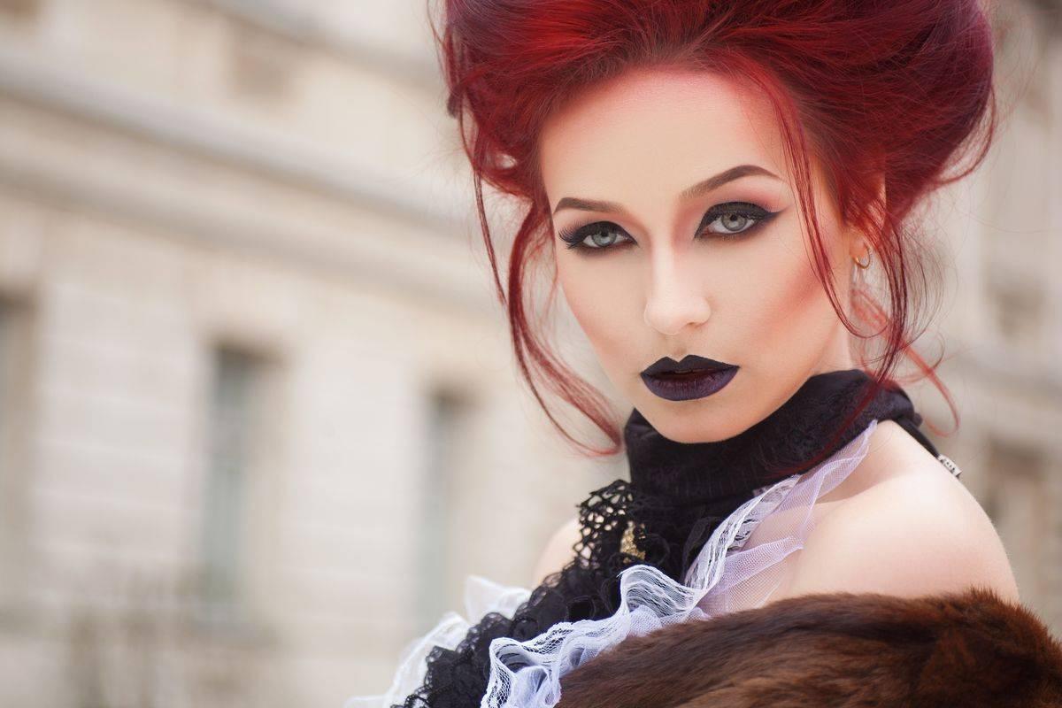 Trucco per Halloween gotico