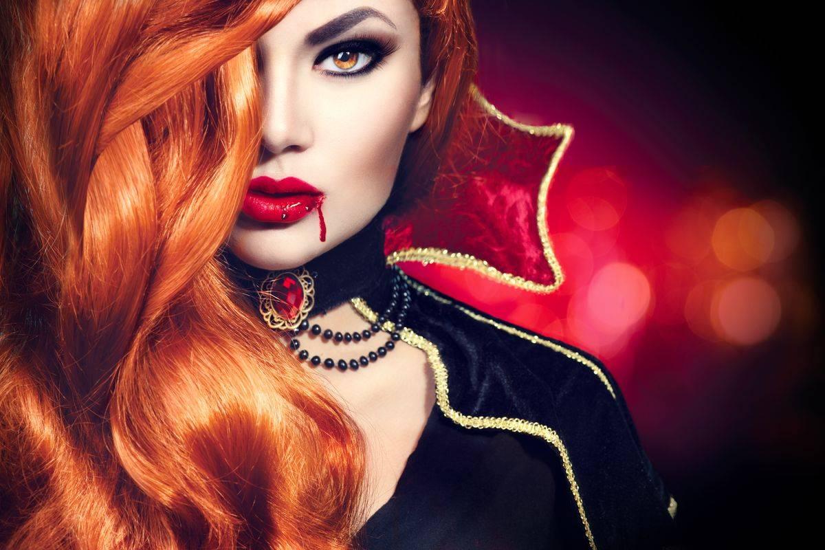 Trucco per Halloween da vampiro