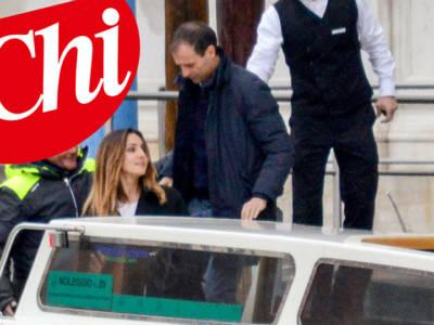 Luna di miele romantica per Ambra Angiolini e Massimiliano Allegri…