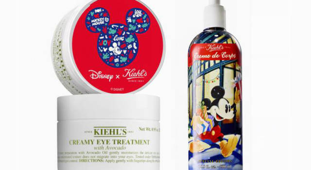 Disney x Kiehl's: la capsule beauty con Mickey Mouse per il Natale 2017