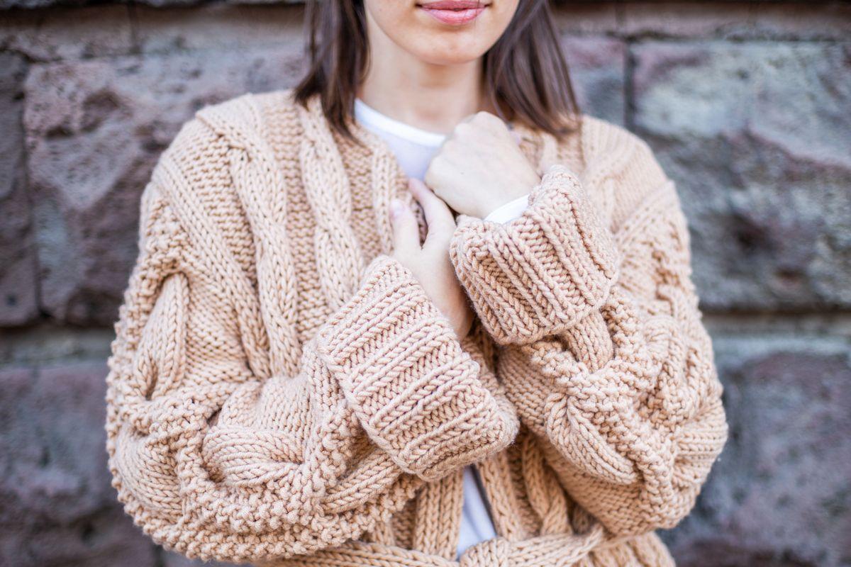Maglione per l'inverno