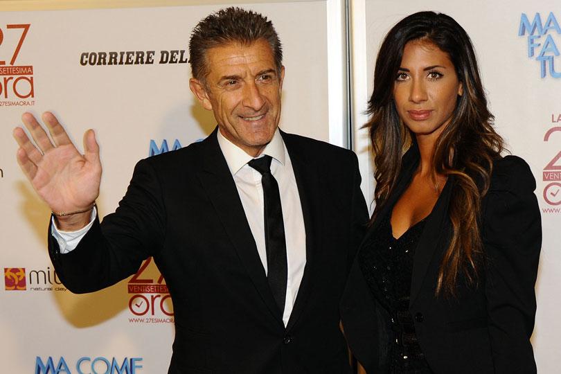 Simona Gobbi e Ezio Greggio