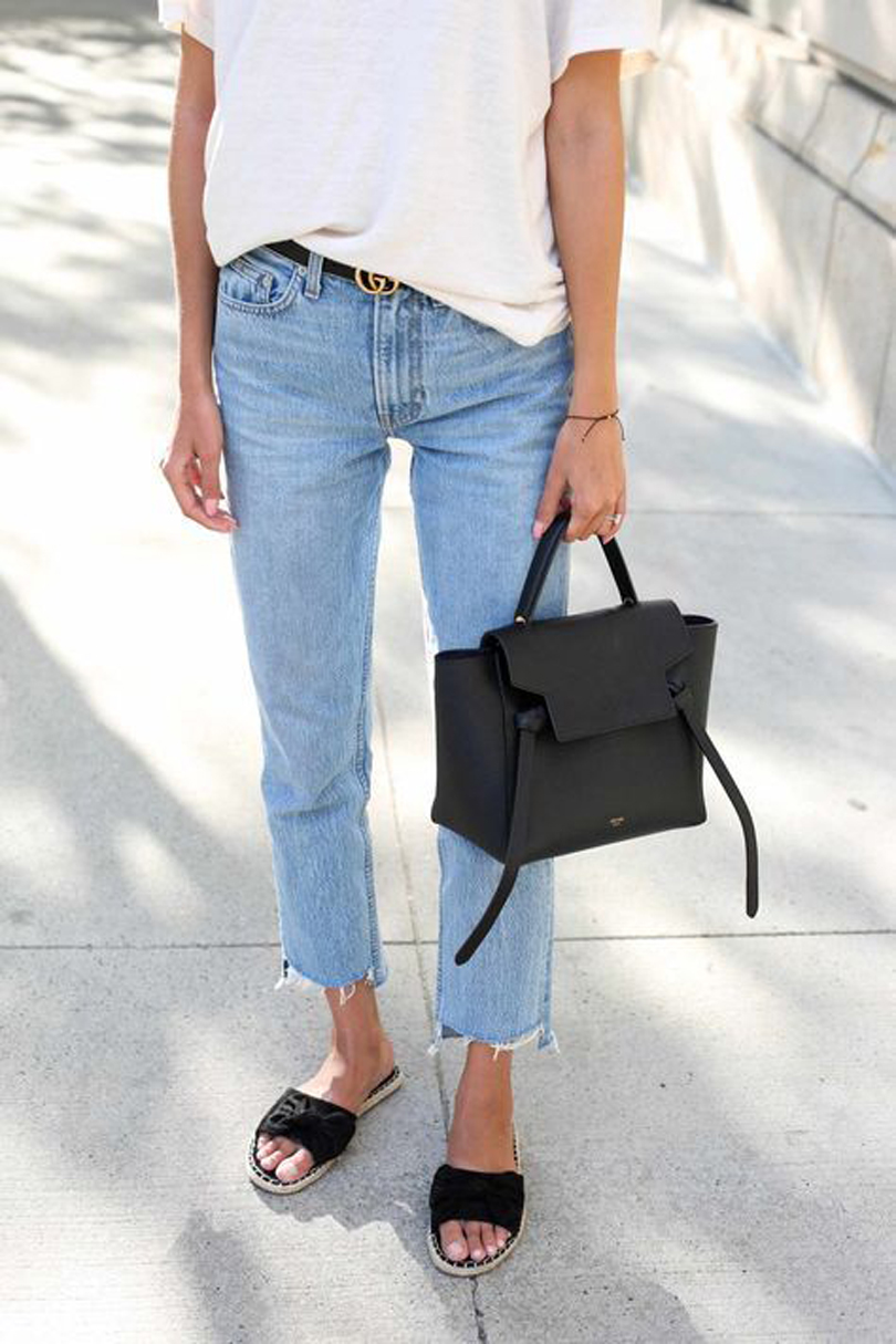Tendenze jeans cropped