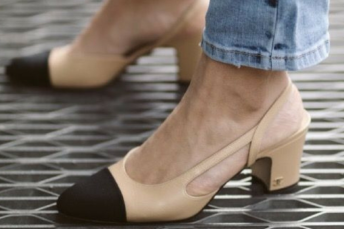 scarpe slingback Chanel