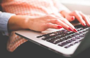 Blogger al computer