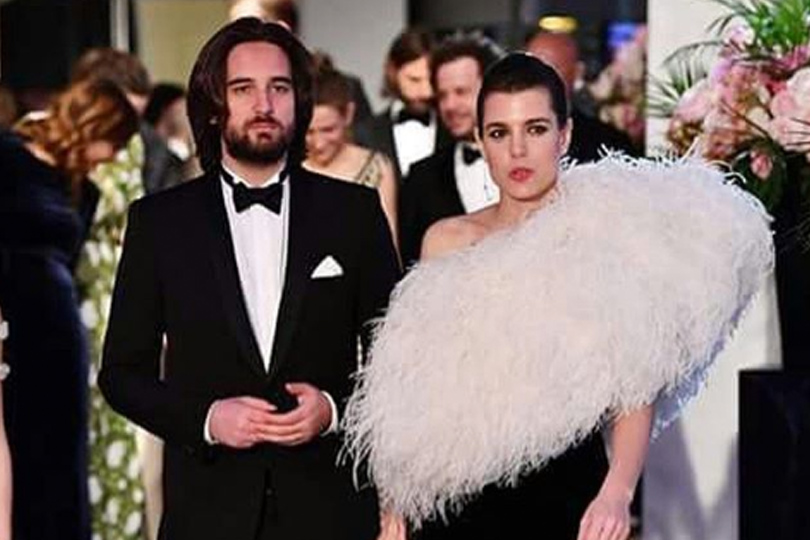 Charlotte Casiraghi in dolce attesa Video