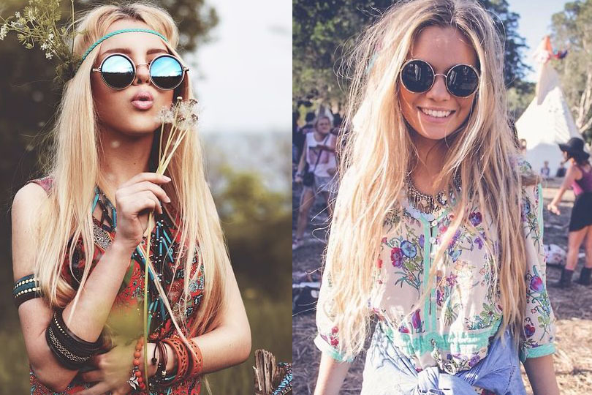 Look hippie