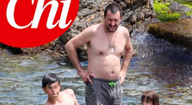 Matteo Salvini ed Elisa Isoardi: vacanze separate…