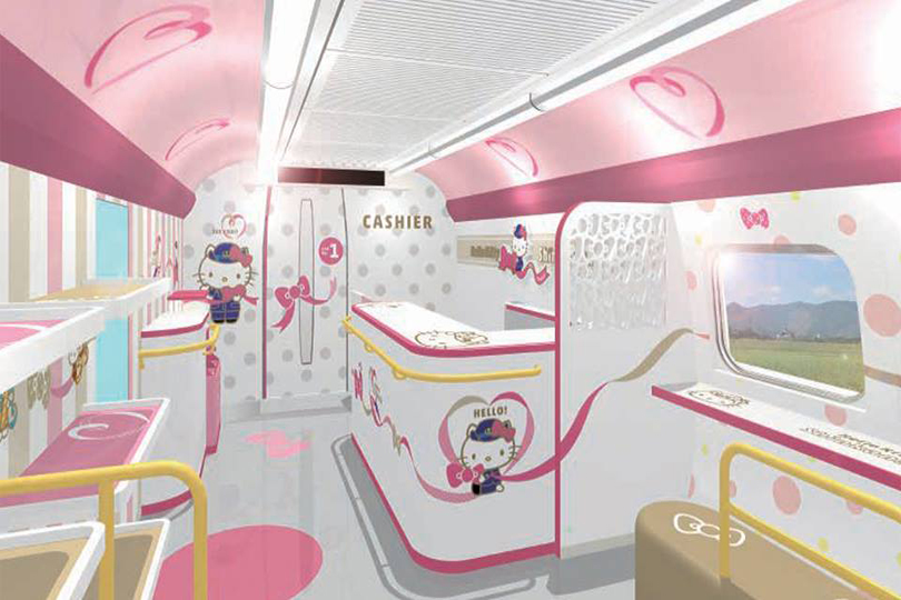 treno hello kitty