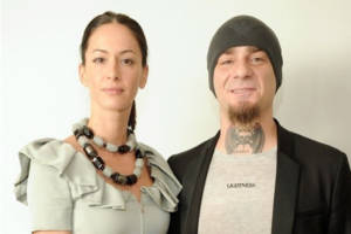 J Ax e Elaina Coker