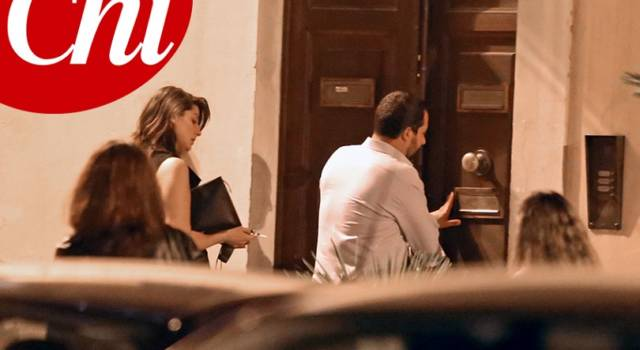 Elisa Isoardi e Matteo Salvini inaugurano il loro nido d'amore…