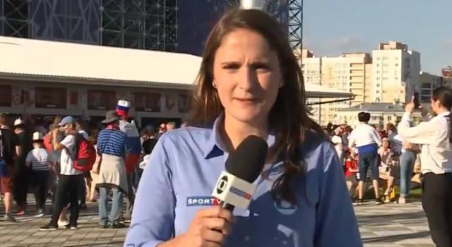 Giornalista ai Mondiali