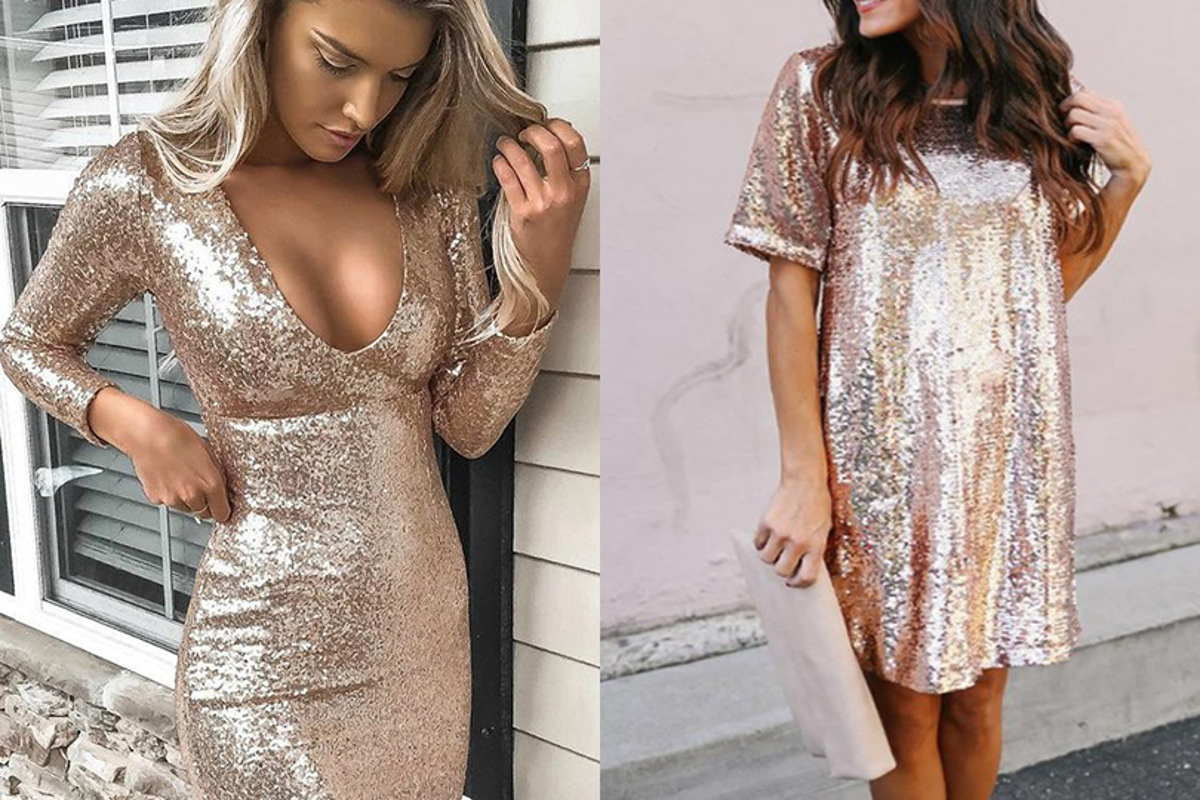 vestito oro