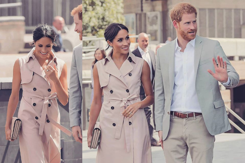 meghan markle trench