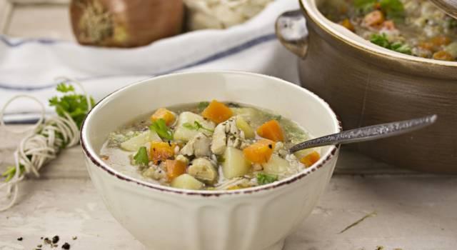 Menù dieta del minestrone