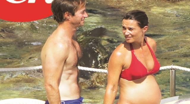 Pippa Middleton: la prima foto in bikini col pancione!