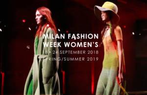Camera della moda di Milano