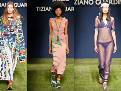 Tiziano Guardini primavera estate 2019: sfilata green e sportswear