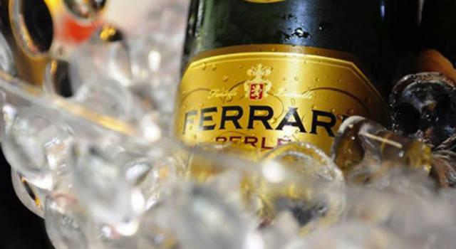 Bollicine a tutto pasto con i vini Ferrari
